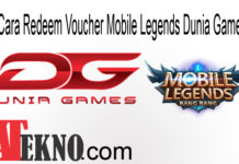 Cara Redeem Voucher Mobile Legends Dunia Games