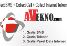 Collect SMS + Collect Call + Collect Internet Telkomsel